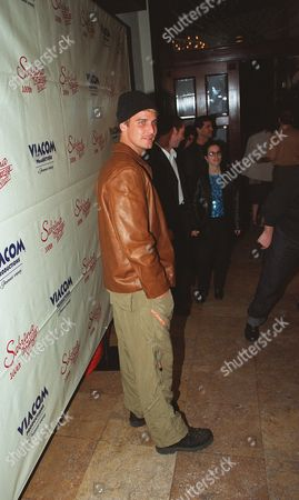 """20001023      Hollywood, CA Ingo Rademacher at 'The Sunset Room' in Hollywood, celebrating the 100th episode of  """"Sabrina , the Teenage Witch"""". A010806-09 Photo®Ryan Miller/Berliner Studio/BEI"""