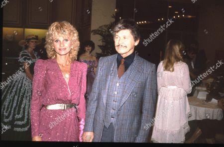 Jill Ireland and Charles Bronson