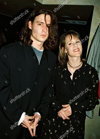 Stock Photo of Johnny Depp and Mary Stewart Masterson