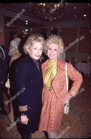 Anne Douglas and Eva Gabor