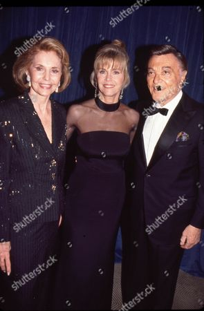 Cyd Charisse, Jane Fonda & Tony Martin