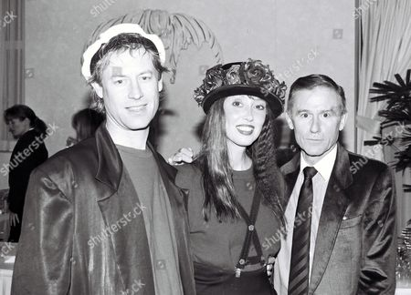 Shelley Duvall and Roddy McDowall