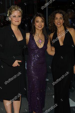 Sherry Stringfield Ming-Na and Melina Kanakaredes