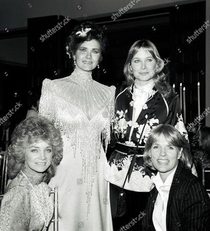 Barbara Mandrell, Lynda Carter, Deborah Raffin and Sharon Gless