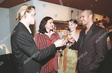 Heath Ledger, Lisa Zane, Jessica Murphy and Billy Zane