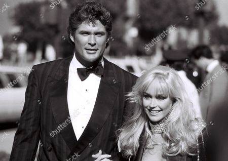 David Hasselhoff and ex-wife Catherine Hickland