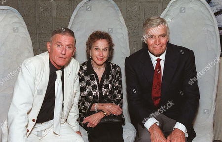 Charlton Heston, Kim Hunter and Roddy McDowall