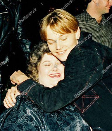 Darlene Cates and Leonardo DiCaprio