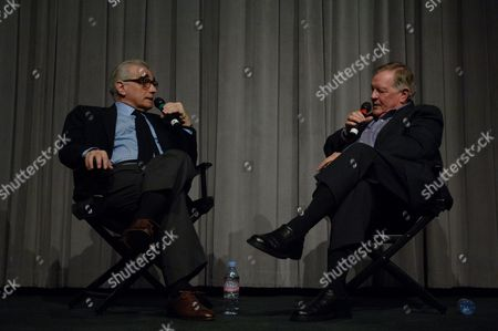 Director Martin Scorsese and Richard Schickel