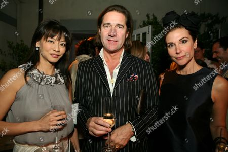 Florence Sloan, Michel Perrin and Sally Perrin