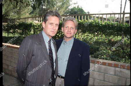 Michael Douglas and brother Eric Douglas