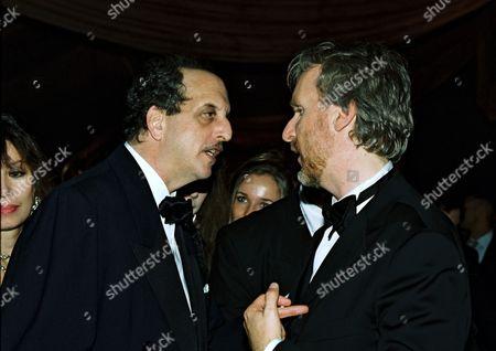 Vincent Schiavelli and James Cameron