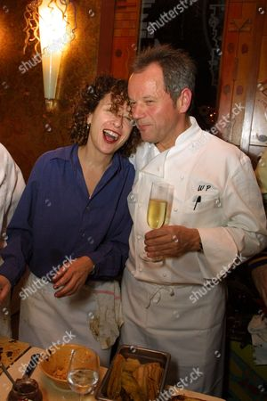 Nancy Silverton and Wolfgang Puck