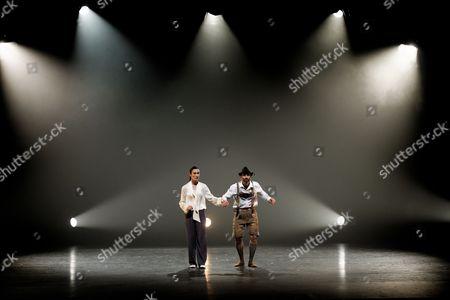 Hofesh Shechter Company dancers