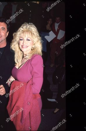 Sandy Gallin and Dolly Parton