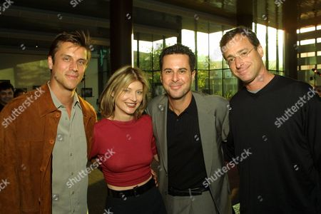 Scott Paetty, Beth Broderick, Jonathan Silverman and Bob Saget