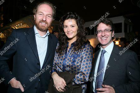 Stock Image of Arturo Arton, Giulia Marletta and Ben Waisbren