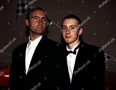 Phil Collins and son Simon Collins