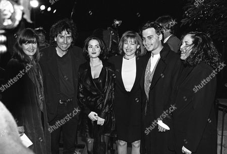 Editorial photo of 'Edward Scissorhands' film premiere