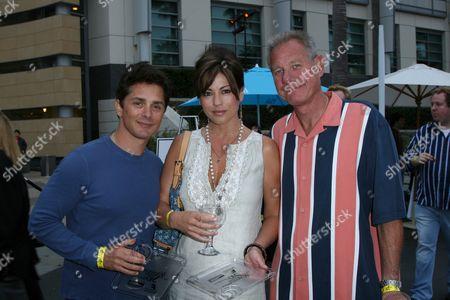 Stock Photo of Billy Warlock, Julie Pinson and Jeffery Bujer