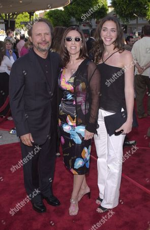 Billy Crystal, Janice Goldfinger and daughter