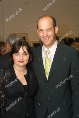 Jeanine Lobell and Anthony Edwards