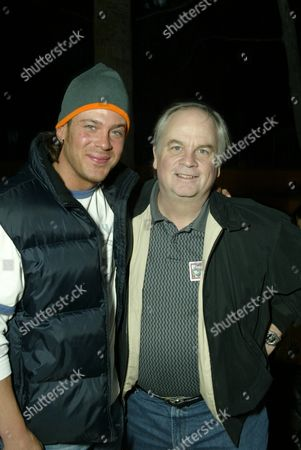 Stock Picture of Christian Kane and Director Tim McCanlies