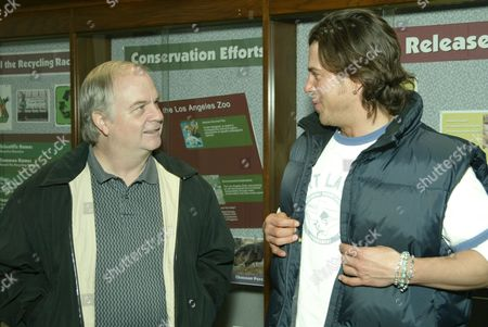 Director Tim McCanlies and Christian Kane