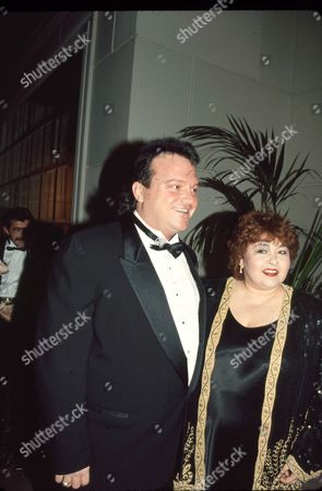 Tom Arnold and wife Roseanne Arnold