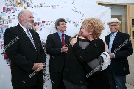 Rob Reiner, Alan Horn, Bonnie Franklin and Norman Lear