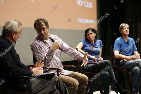 Ken Auletta, Judd Apatow, Sarah Silverman and Andy Borowitz