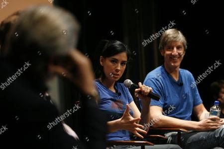 Sarah Silverman and Andy Borowitz
