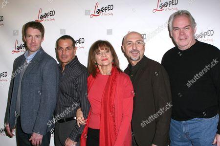 Brian Hutchison, Matthew Lombardo, Valerie Harper, Rob Ruggiero, Michael Mulheren