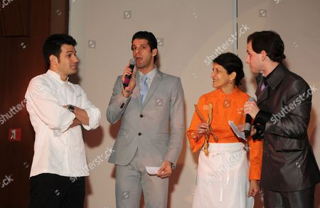 Stock Photo of George Mendes (Ablea), Marcelo Gomes,  Amy Sherber (Amy's Bread), Craig Salstein