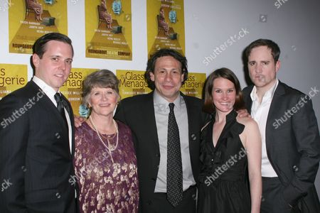 Editorial image of 'The Glass Menagerie' Opening Night at Laura Pels Theatre, New York , America - 24 Mar 2010