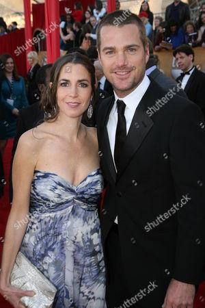 Caroline Fentress and Chris O'Donnell