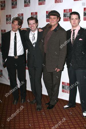 Levi Kreis, Robert Britton Lyons, Lance Guest and Eddie Clendening