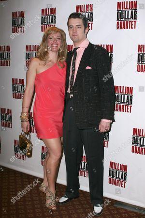 Elizabeth Stanley and Eddie Clendening