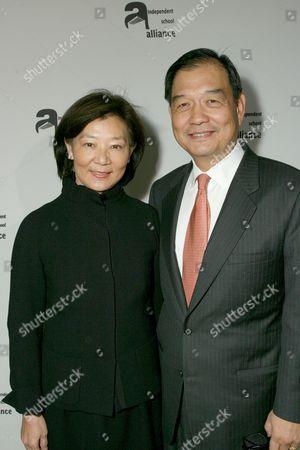 Stock Picture of Ellen & David Lee