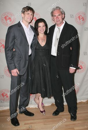 Lee Aaron Rosen, Diane Davis and David Esbjornson