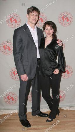 Lee Aaron Rosen and Samantha Soule