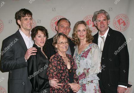 Lee Aaron Rosen, Samantha Soule, Patricia Conolly, Zach Grenier and David Esbjornson