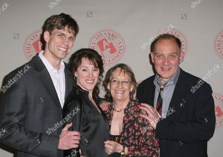 Lee Aaron Rosen, Samantha Soule, Patricia Conolly and Zach Grenier