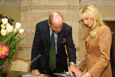Morgan Fairchild and HRH Prince Dimitri of Yugoslavia
