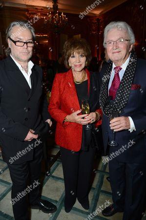David Downton, Yvonne Romain and Leslie Bricusse