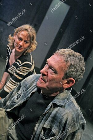 Niamh Cusack and Paul Copley