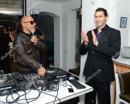 Noah and Karim al Fayed
