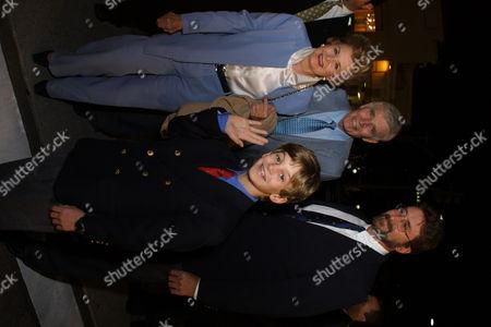 Lydia Heston Charlton Heston son Fraser Heston and grandson Ja