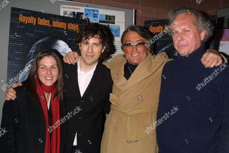 Co-Director Annette Burstein co-director Brett Morgan Robert Evans and Vanity Fairs Graydon Carter