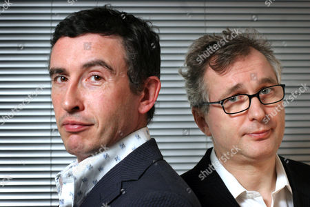 Steve Coogan who along with Henry Normal set up the production company 'Baby Cow Productions', London, Britain - 22 Dec 2004